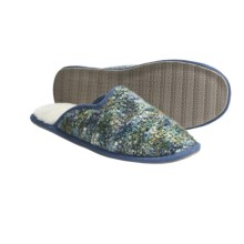 Acorn Kit Mule Slippers (For Women) in Blue Lagoon - Closeouts