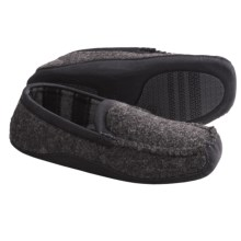 Acorn Loafer Slippers - Wool Blend (For Men) in Slate Knit - Closeouts