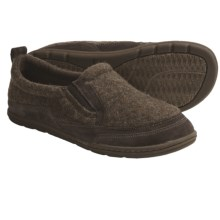 Acorn Max Moc Slippers (For Men) in Cocoa Knit - Closeouts