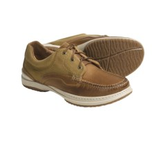 Acorn Midtown Moc 3 Boat Shoes - 3-Eyelet (For Men) in Palamino - Closeouts