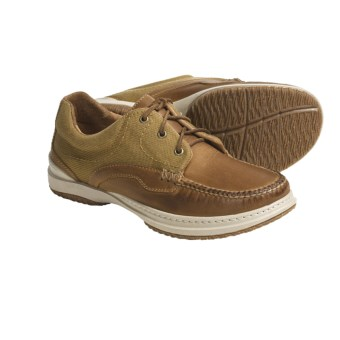 Acorn Midtown Moc 3 Boat Shoes - 3-Eyelet (For Men) in Palamino