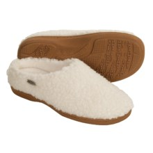 Acorn Nex Tex Clog Slippers (For Women) in Buff Popcorn - Closeouts