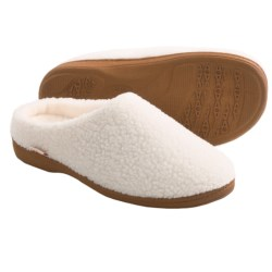 Acorn Nex Tex Clog Slippers (For Women) in Ivory