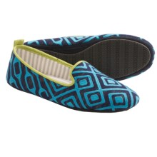 Acorn Novella Slippers (For Women) in Navy Geo - Closeouts