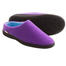 Acorn Plush Mule Slippers (For Women) in Purple - Closeouts