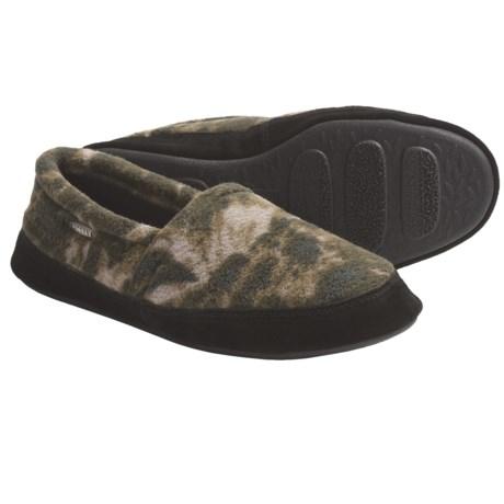 Acorn Polar Moc II Slippers (For Men) in Charcoal Multi