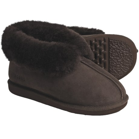 Acorn Ram Island Slippers - Sheepskin (For Men)