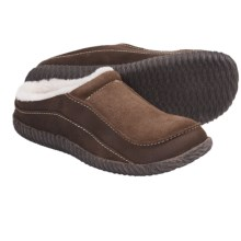 Acorn Roam Mule Slippers - Sheepskin (For Men) in Earth - Closeouts