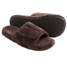 Acorn Spa Slide Slippers (For Men) in Chocolate - Closeouts