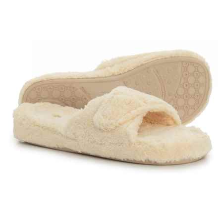 Acorn Spa Slide Slippers (For Women) in Buttercream - Closeouts