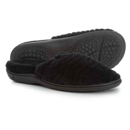 Acorn Spa Support Scuff Slippers (For Women) in Black - Closeouts