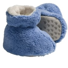 Acorn Spa Terry Booties (For Toddlers) in French Blue - Closeouts