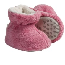 Acorn Spa Terry Booties (For Toddlers) in Melon - Closeouts