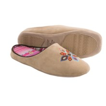 Acorn Talia Suede Slippers (For Women) in Taupe - Closeouts