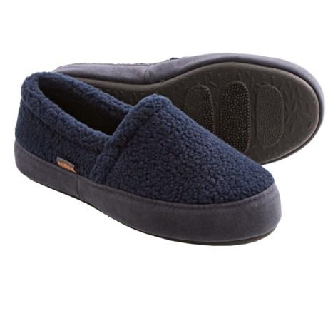 Acorn Tex Moc Slippers - Berber Fleece (For Boys)