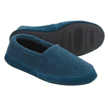 Acorn Tex Moc Slippers - Berber Fleece (For Men) in Harbor - Closeouts