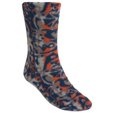 Acorn Versa Fit Fleece Socks (For Men and Women) in Totem Blue