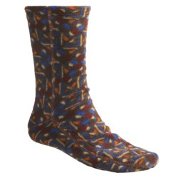 Acorn Versa Socks - Fleece (For Men) in Mission Brown