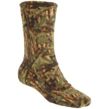 Acorn Versa Socks - Fleece (For Men) in Camo - Closeouts