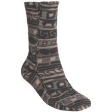 Acorn Versa Socks - Fleece (For Men) in Glyphic Charcoal - Closeouts