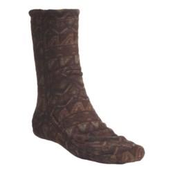 Acorn Versa Socks - Fleece (For Men) in Mission Brown