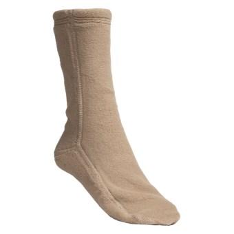 Acorn Versa Socks - Fleece (For Women) in Camel