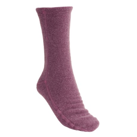 Acorn Versa Socks - Fleece (For Women) in Rose Heather