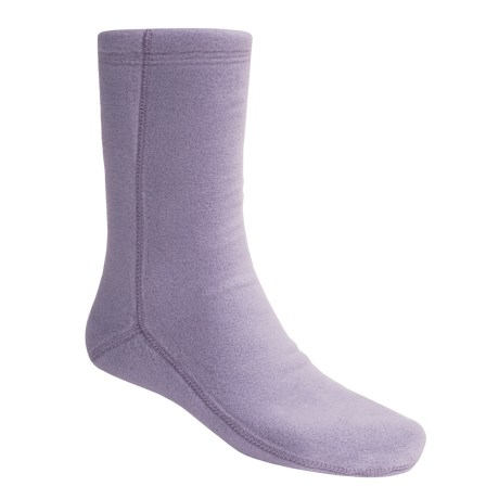 Acorn Versa Socks - Fleece (For Women) in Twilight Time