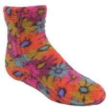 Acorn Versafit Tread Socks - Midweight, Fleece (For Kids) in Retro Daisy - Closeouts