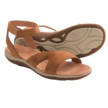 Acorn Vista Sweep Sandals - Suede (For Women) in Fawn - Closeouts