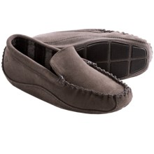 Acorn Wyoming Moc Slippers - Suede, Wool-Blend Lining (For Men) in Stone - Closeouts