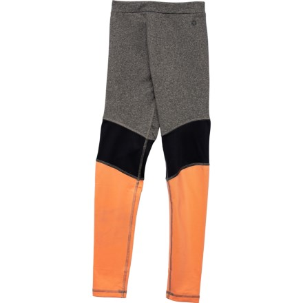 31f7e81e9e45f3 ACTIF Active Leggings (For Big Girls) in Heather Grey - Closeouts