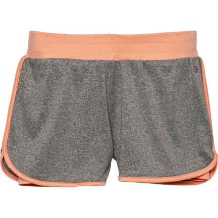 2257fc3b80 ACTIF Active Shorts (For Big Girls) in Heather Grey - Closeouts