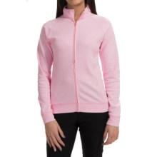 Active Light Cotton Jacket - Full Zip (For Women) in Pink - 2nds