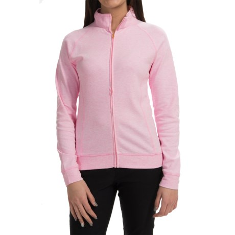 Active Light Cotton Jacket Full Zip (For Women)