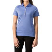 Active Polo Shirt - UPF 50+, Short Sleeve (For Women) in Storm - 2nds