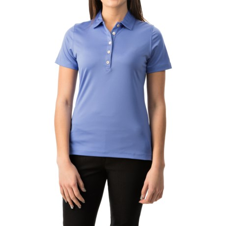 Active Polo Shirt UPF 50+, Short Sleeve (For Women)