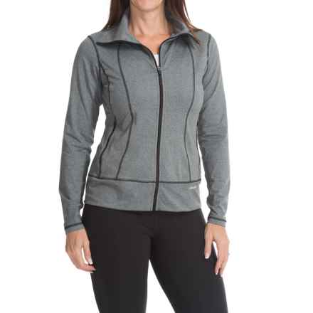 Active Zip Jacket (For Women) in Heather Charcoal - 2nds