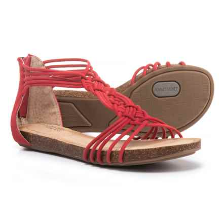 Adam Tucker by Me Too Cali Sandals - Leather (For Women) in Scarlett - Closeouts