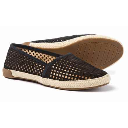 Adam Tucker by Me Too Milo Shoes - Suede, Slip-Ons (For Women) in Black - Closeouts