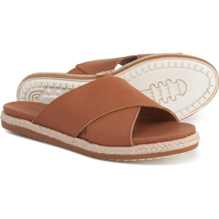 81c390567 Adam Tucker by Me Too Reeta6 Slide Sandals - Leather (For Women) in Cuoio