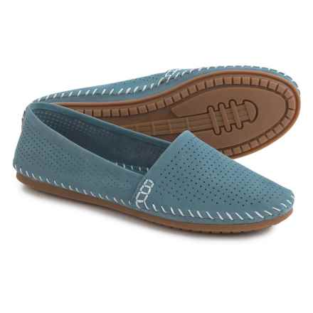 Adam Tucker by Me Too Sundance Espadrilles - Nubuck(For Women) in Ocean Blue - Closeouts
