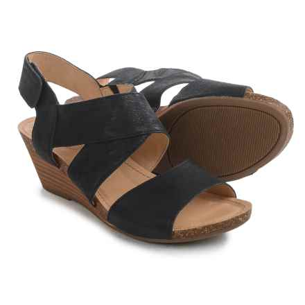 Adam Tucker by Me Too Torree Sandals - Leather (For Women) in Black - Closeouts