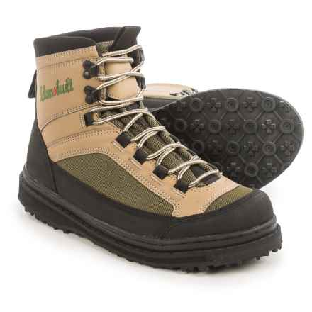 Adams Built Gear Gunnison River Wading Boots in Tan/Olive Green - Closeouts