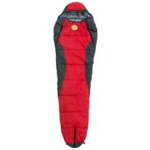 Adamsbuilt -20°F Toiyabe Sleeping Bag - Mummy in Red/Grey - Closeouts