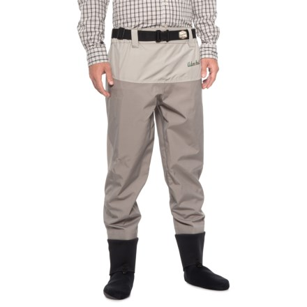 aaa0d14f5cc5d Adamsbuilt Green River Stocking Foot Waist Waders - Waterproof (For Men) in  Grey