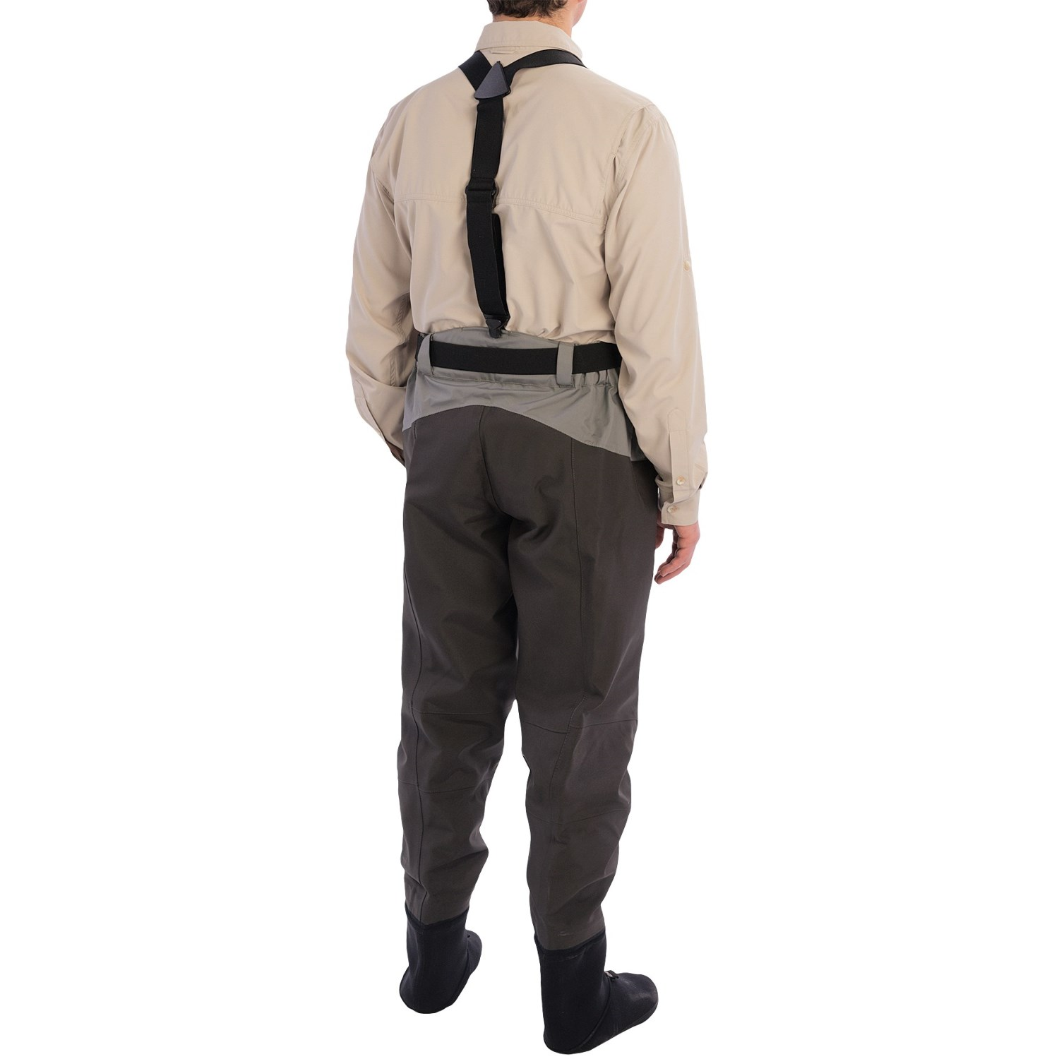 Waist high stocking foot waders for Cabelas fishing waders