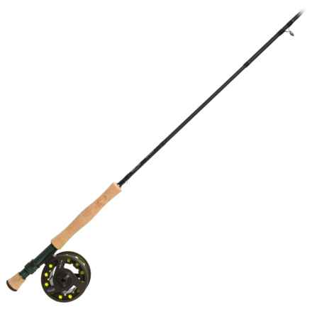 Adamsbuilt MMH Fly Rod and Reel Combo - 4-Piece, 9', 8wt in See Photo