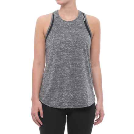 adidas 24-7 Tank Top - Racerback (For Women) in Grey - Closeouts