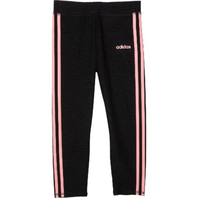 adidas 3 Stripe Core Tights (For Big Girls) Save 50%
